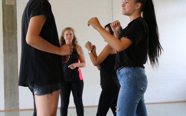 Stuntworkshop für Mädchen